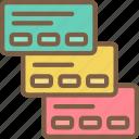 backlog, hr, human, resources, task, tasking icon