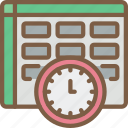 analysis, hr, human, resources, task, tasking, time icon