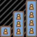 data, hr, human, resources, task, tasking, team icon