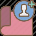 assign, hr, human, resources, task, tasking icon