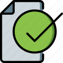 complete, hr, human, resources, task, tasking icon