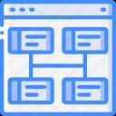 hr, human, management, resources, task, tasking, web icon