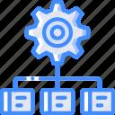 analysis, hr, human, resources, task, tasking icon