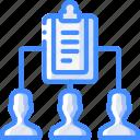 hr, human, meeting, resources, task, tasking icon