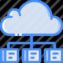 cloud, hr, human, resources, task, tasking icon