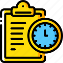 deadline, hr, human, resources, task, tasking icon