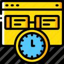 hr, human, management, task, tasking, timed, web icon