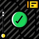 correct, flow, hr, human, resources, task, tasking icon