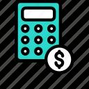 calculation, tax, bill, finance, dollar