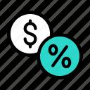 dollar, discount, tax, money, finance