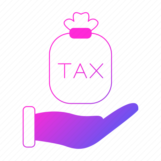 cash, hand, invoice, tax, vat icon