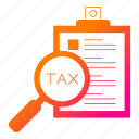 invoice, list, survey, taxes, vat icon