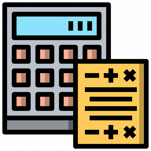 and, business, calculate, finance, payment, tax, taxes icon