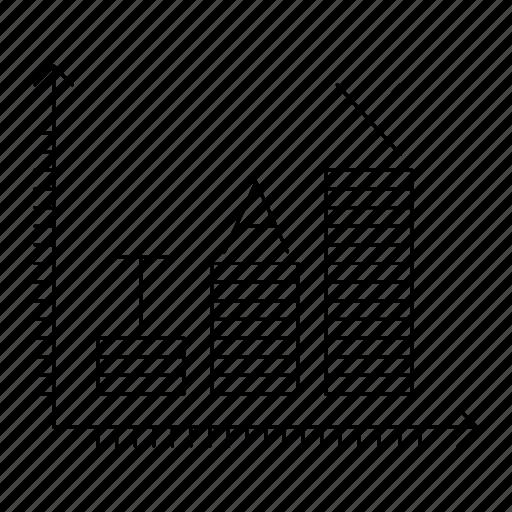 data, graph, invoice, percent, report, taxes, vat icon