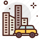 cab, car, city, transport