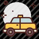 cab, car, city, side, transport