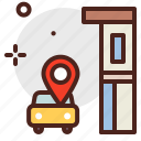 car, city, pickup, transport icon