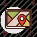 car, city, location, tablet, transport