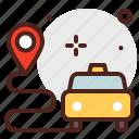 car, city, direction, taxi, transport