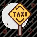 car, city, sign, taxi, transport