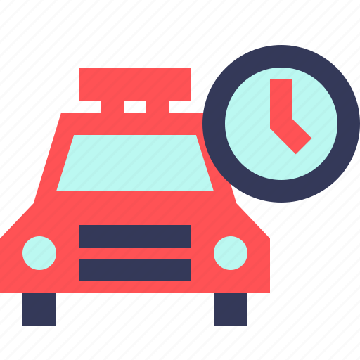 clock, date, hour, taxi, time, timer, watch icon