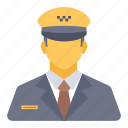 avatar, cab, driver, taxi