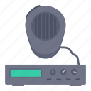 microphone, music, services, speaker icon