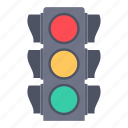 road, signal, taxi, traffic icon