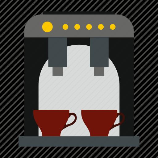 Beverage, caffeine, coffee, espresso, kitchen, maker, modern icon - Download on Iconfinder