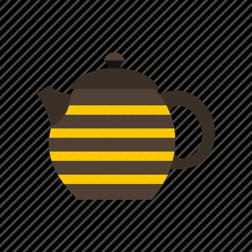 Drink, porcelain, pot, pottery, tea, teapot, utensil icon - Download on Iconfinder