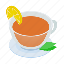beverage, cup, drink, hot, isometric, mug, tea icon