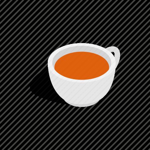 beverage, cup, drink, hot, isometric, mug, tea icon