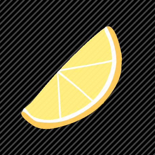 citrus, fruit, juicy, lemon, slice, yellow icon
