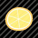 citrus, fruit, juicy, lemon, slice, yellow