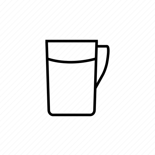 coffee, cup, tea, water icon