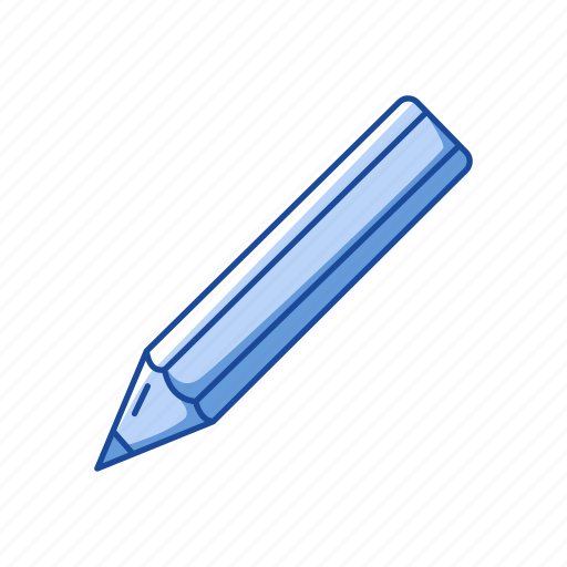 create, draw, education, office education, pencil, school supply, write icon