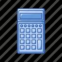 calcu, calculator, educational, math, office, school, supply icon