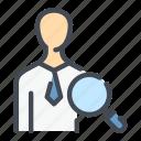 employee, find, person, search, work, worker, workflow