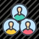collaboration, employee, person, team, user, workflow