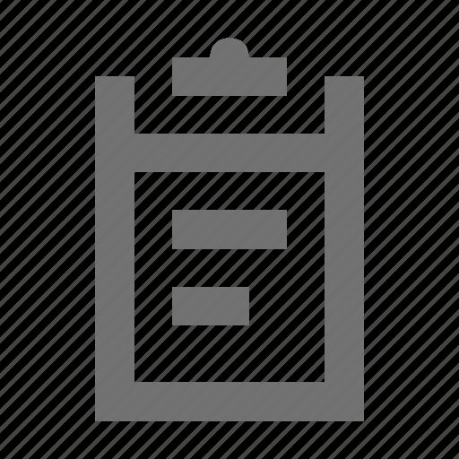 checklist, clipboard, list, memo, notes icon