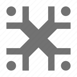 business community, business group, business people, organization, team icon