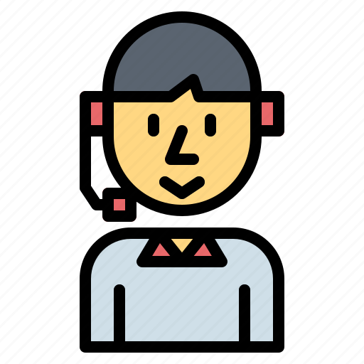 avatar, call, customer, service, support icon