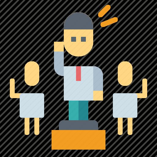 boss, business, leader, leadership icon