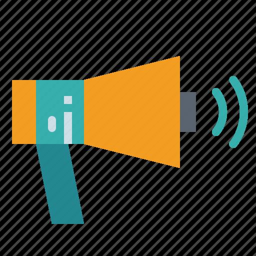 Advertising, loud, megaphone, speaker icon - Download on Iconfinder