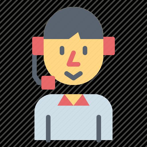 avatar, call, customer, service, support icon