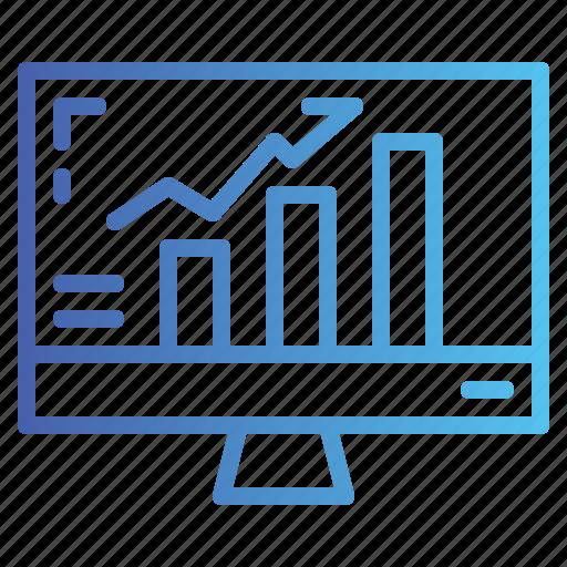 analytics, bar, business, graph, seo, statistics, web icon