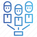 group, men, networking, team, users icon