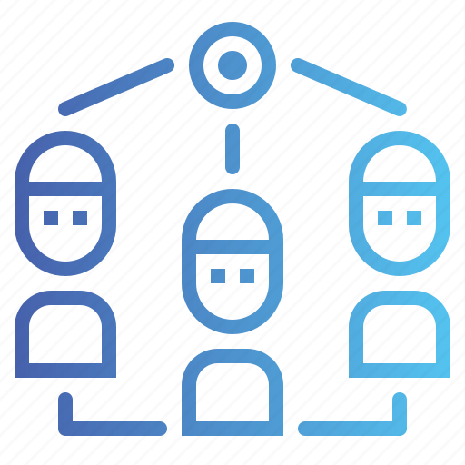 connection, group, network, networking, working icon