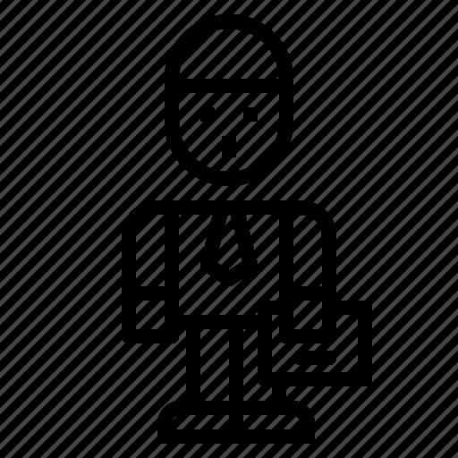avatar, businessman, job, man, people icon