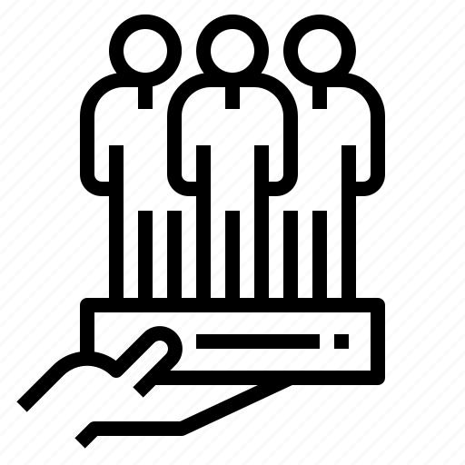 building, success, team, work icon